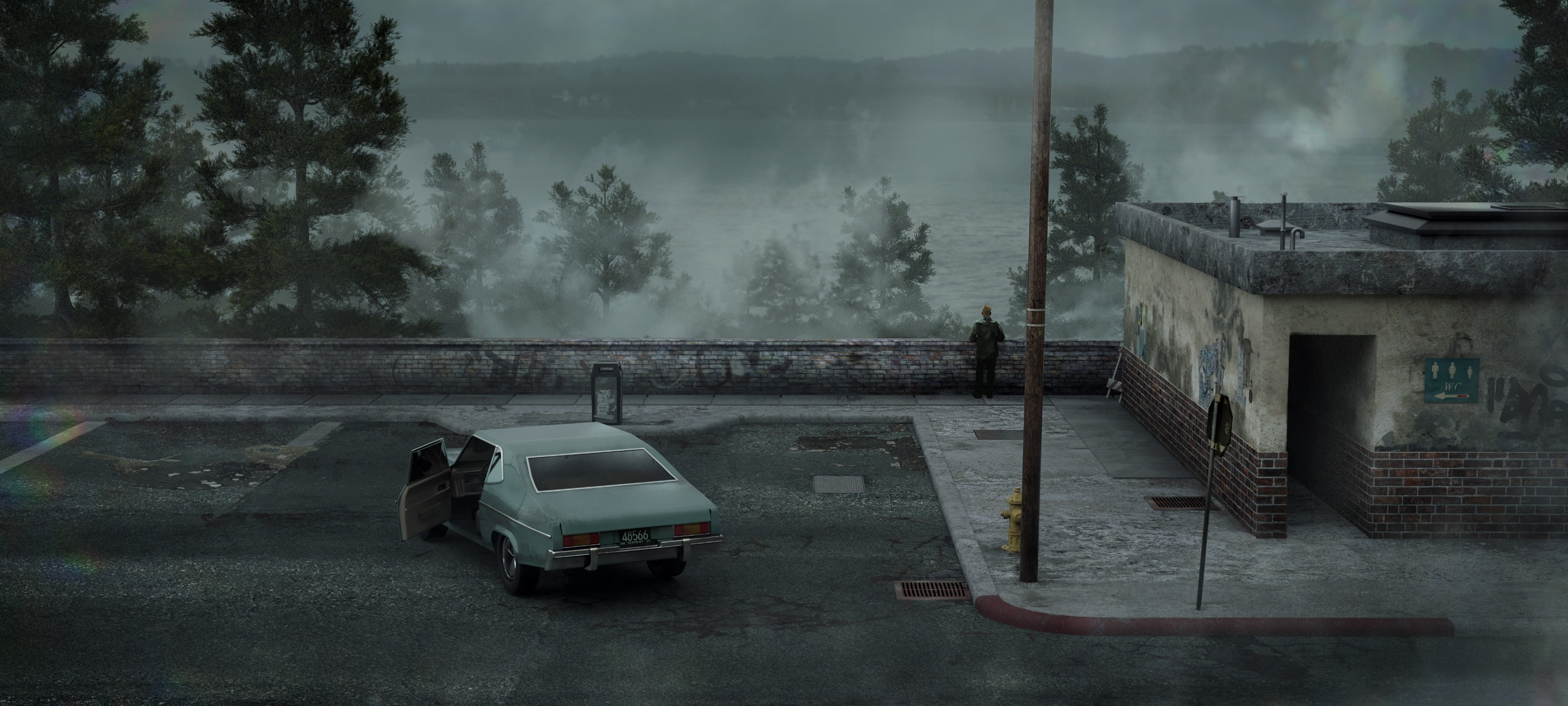 Silent Hill 2 Hd Wallpaper Background Image 3000x1350 Id