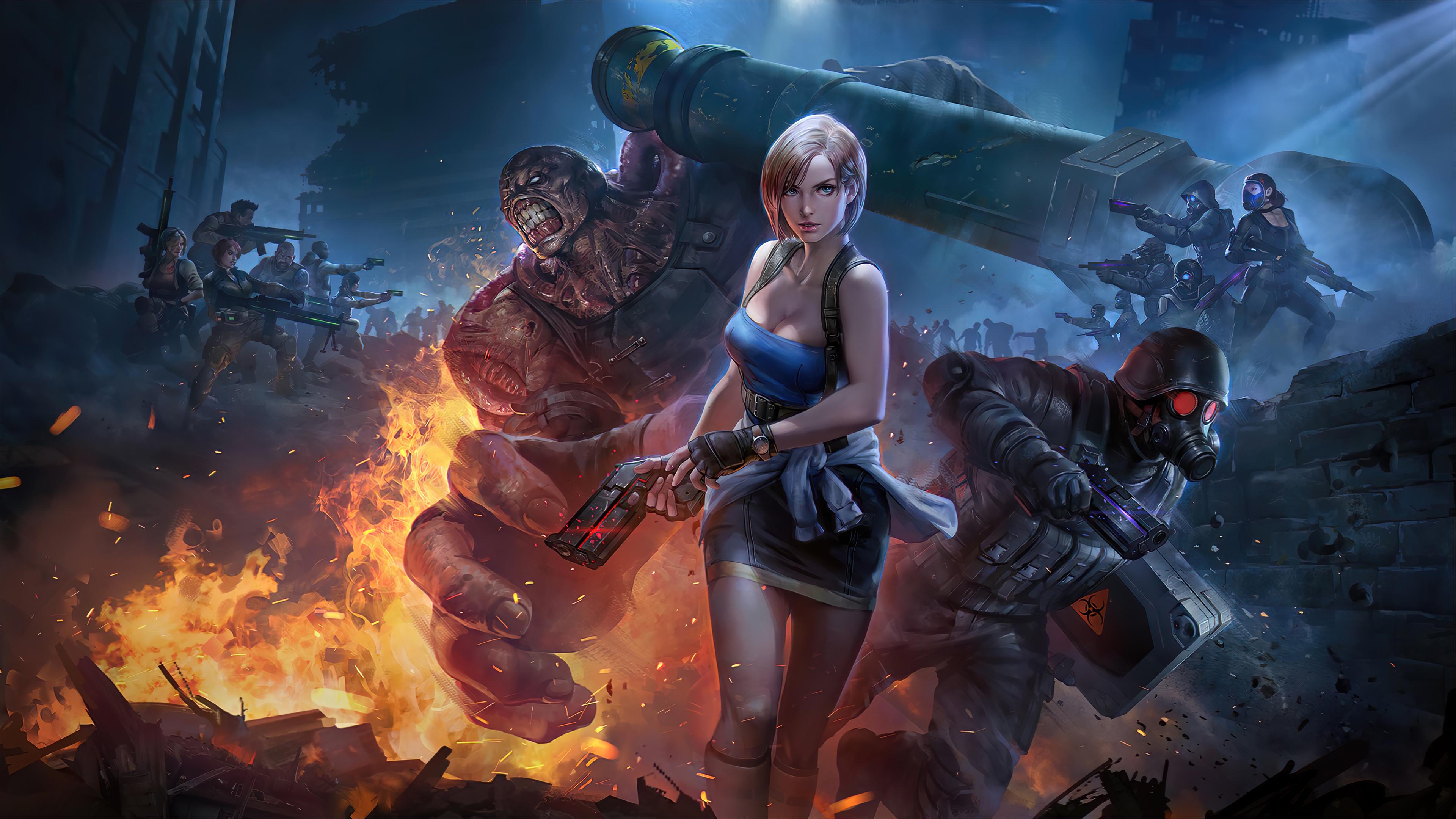 Resident Evil 3 Teppen Capcom 4k Ultra Hd Wallpaper