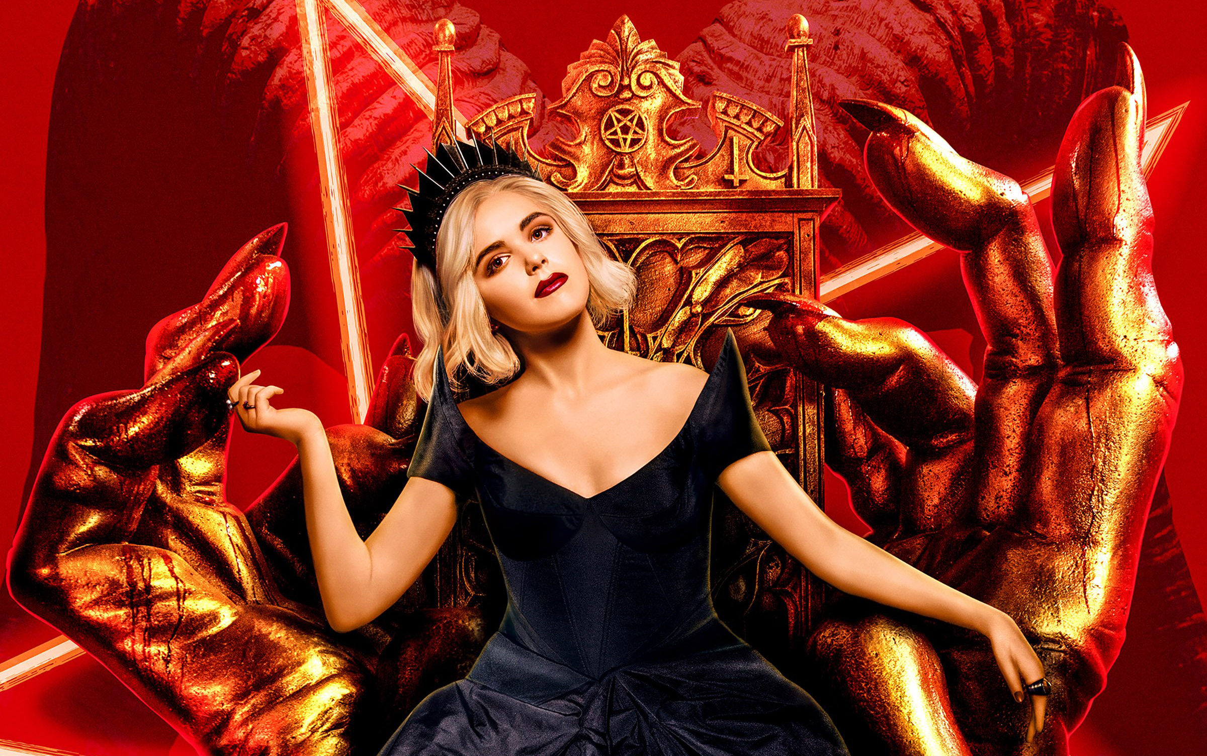 Chilling Adventures Of Sabrina Hd Wallpaper Background Image