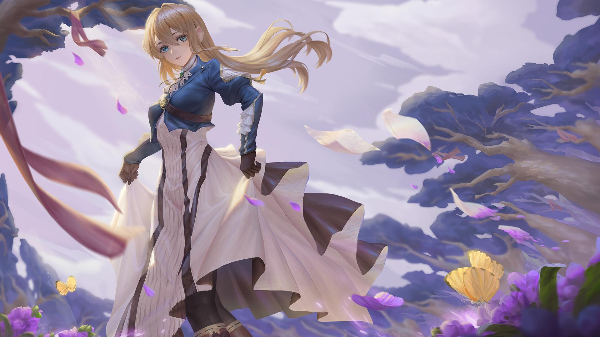 Violet Evergarden HD Wallpaper | Hintergrund | 1920x1080 ...
