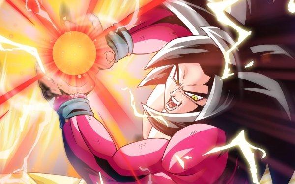 Anime Dragon Ball GT Dragon Ball Goku Super Saiyan 4 HD Wallpaper | Background Image