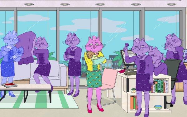 TV Show BoJack Horseman Princess Carolyn HD Wallpaper | Background Image