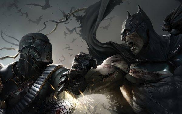 Comics Batman Deathstroke DC Comics HD Wallpaper   Background Image