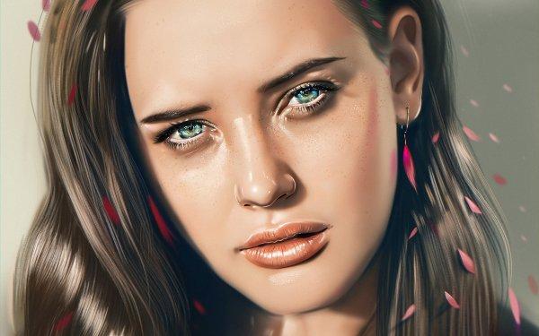 Kändis Katherine Langford Skådespelerskor Australien Woman Flicka Actress HD Wallpaper | Background Image