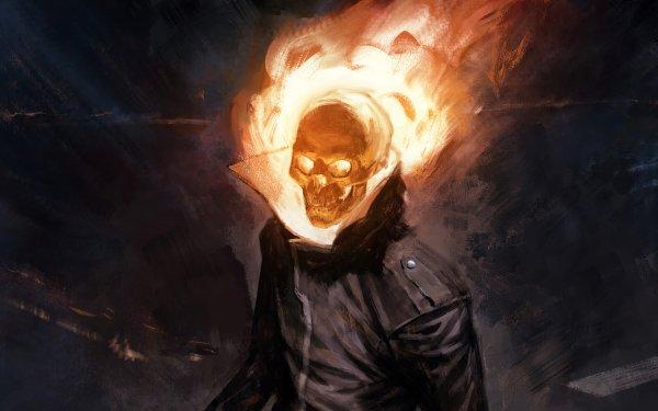 Comics Ghost Rider Marvel Comics HD Wallpaper   Background Image