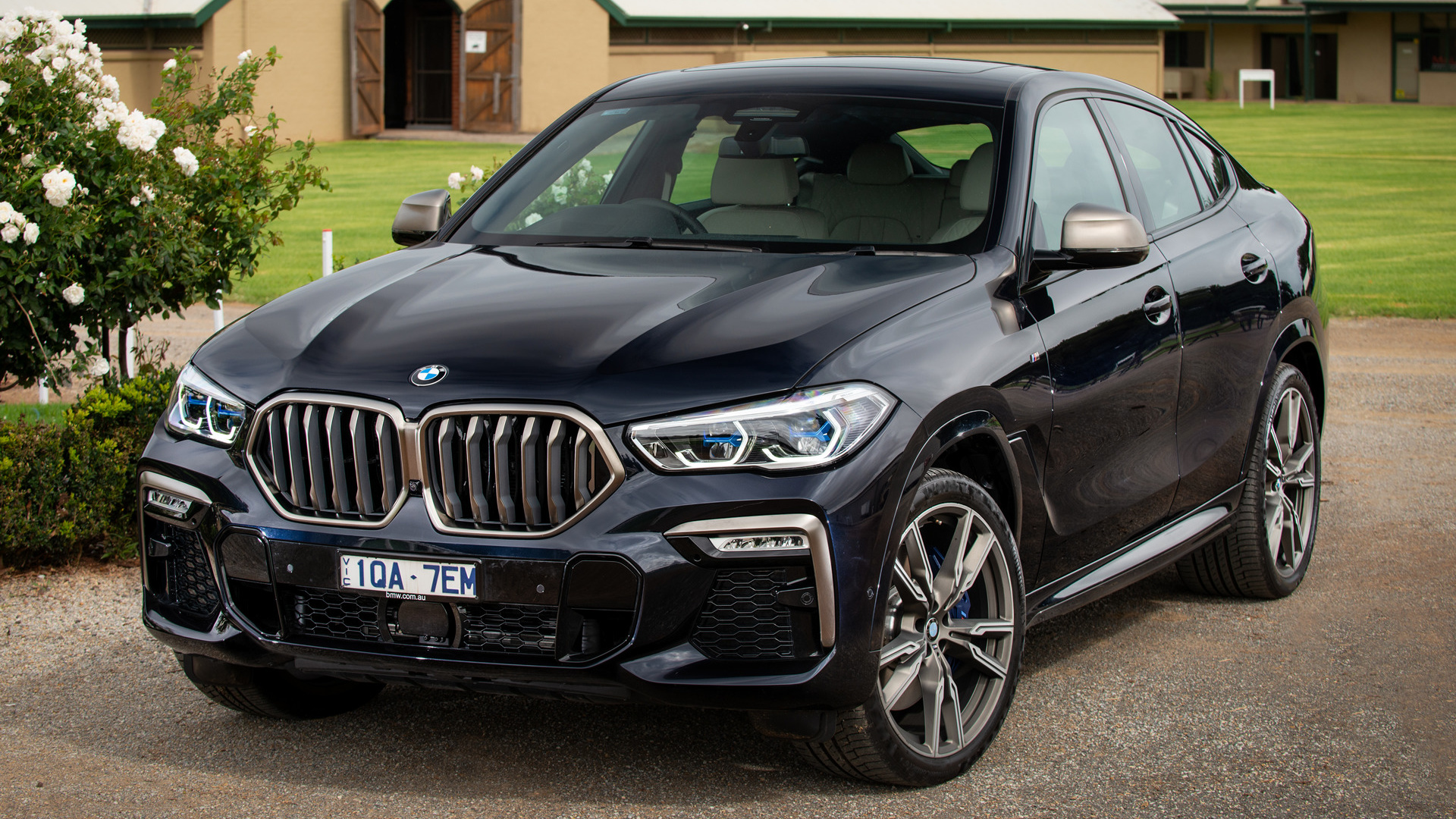 2020 BMW X6 M50i HD Wallpaper   Background Image ...