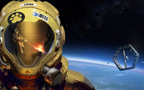 Video Game Hardspace: Shipbreaker Astronaut Space Space Station HD Wallpaper   Background Image