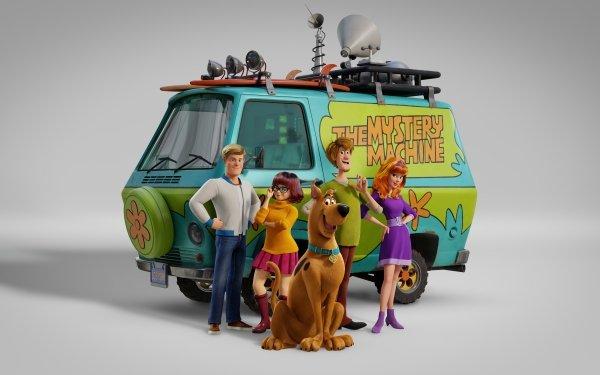 Movie Scoob! Scooby-Doo Shaggy Rogers Fred Jones Velma Dinkley Daphne Blake HD Wallpaper | Background Image