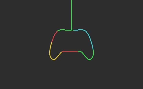 Videojuego Xbox Consolas Microsoft Controller Minimalist Fondo de pantalla HD | Fondo de Escritorio