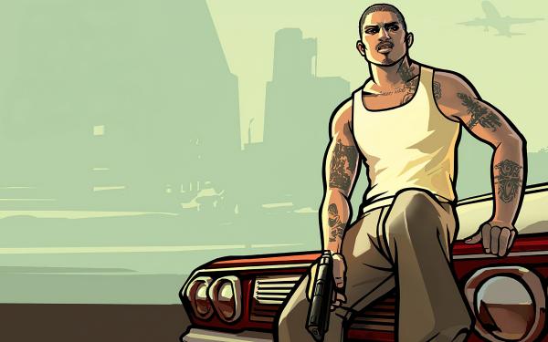 Jeux Vidéo Grand Theft Auto: San Andreas Grand Theft Auto Fond d'écran HD | Arrière-Plan