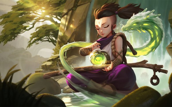Videojuego Legends of Runeterra Chinese Dragon Fondo de pantalla HD   Fondo de Escritorio