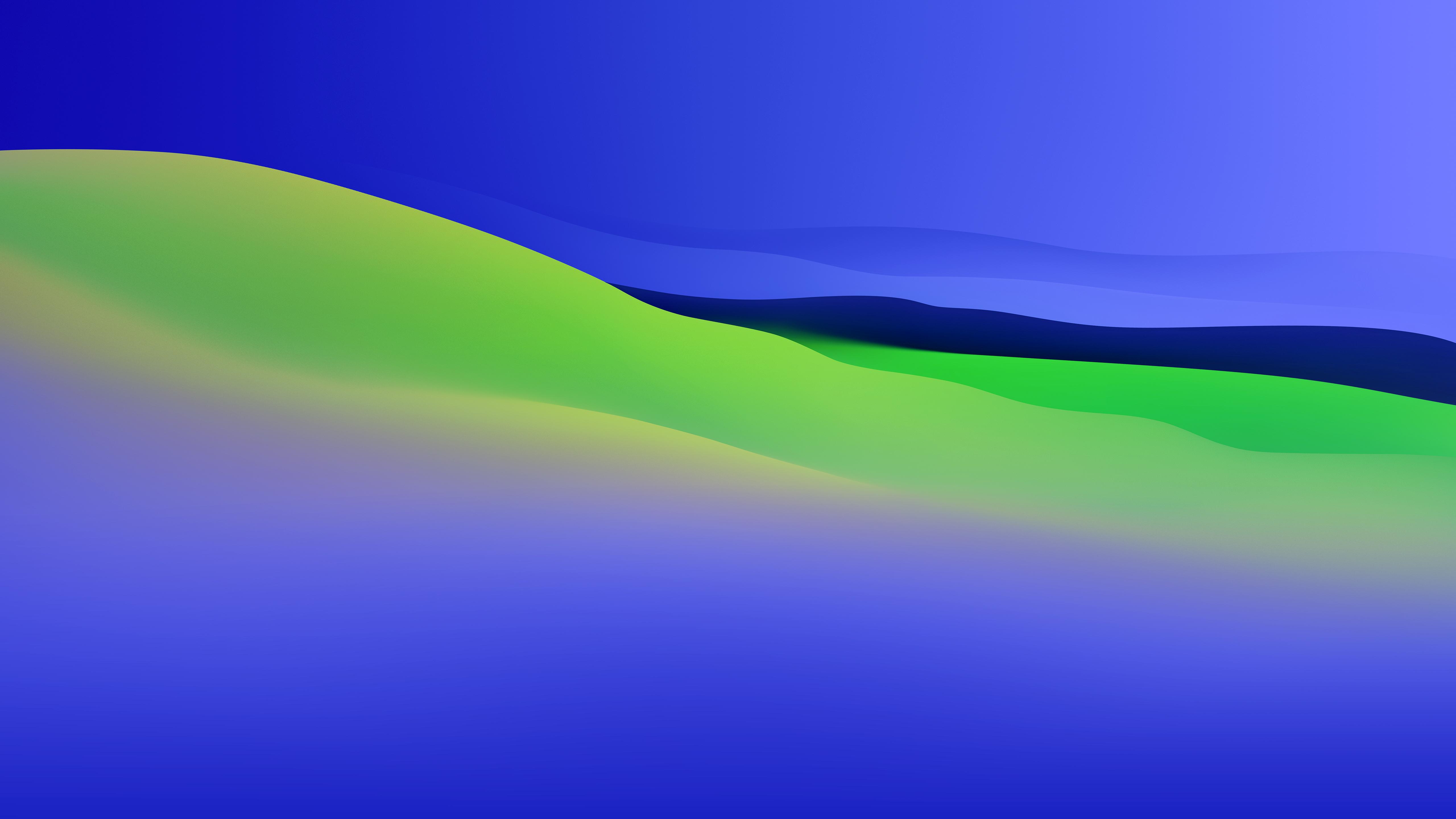 Macos 11 Big Sur Modified Wallpaper Blue Green 5k Retina Ultra Hd Wallpaper Background Image 5120x2880 Id 1083662 Wallpaper Abyss