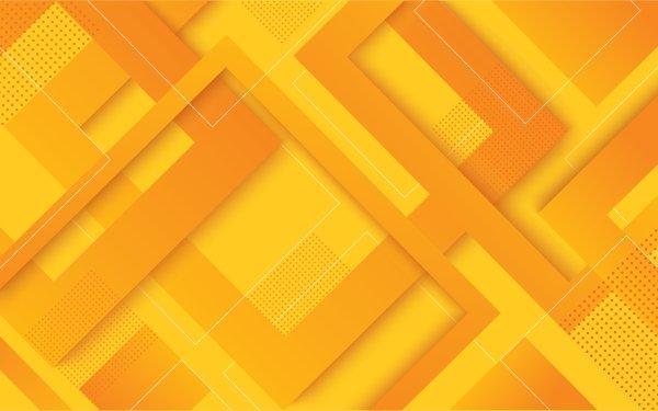 Abstract Orange Geometry orange HD Wallpaper | Background Image