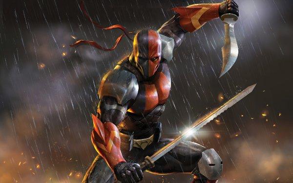 Movie Deathstroke: Knights & Dragons Deathstroke Slade Wilson HD Wallpaper | Background Image