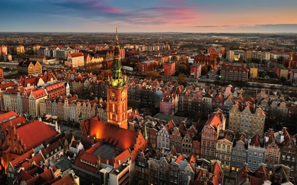 Man Made Gdansk Towns Poland HD Wallpaper | Background Image