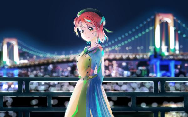 Anime Love Live! Ayumu Uehara Nijigasaki Fond d'écran HD | Arrière-Plan