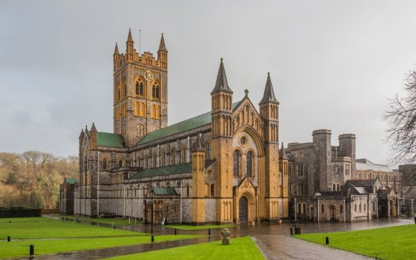 Religious Abbey HD Wallpaper | Background Image