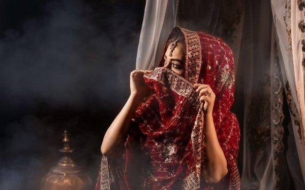 Women Asian Eastern National Dress HD Wallpaper   Background Image
