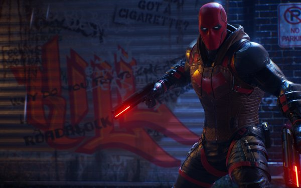 Video Game Gotham Knights Jason Todd Red Hood DC Comics HD Wallpaper | Background Image