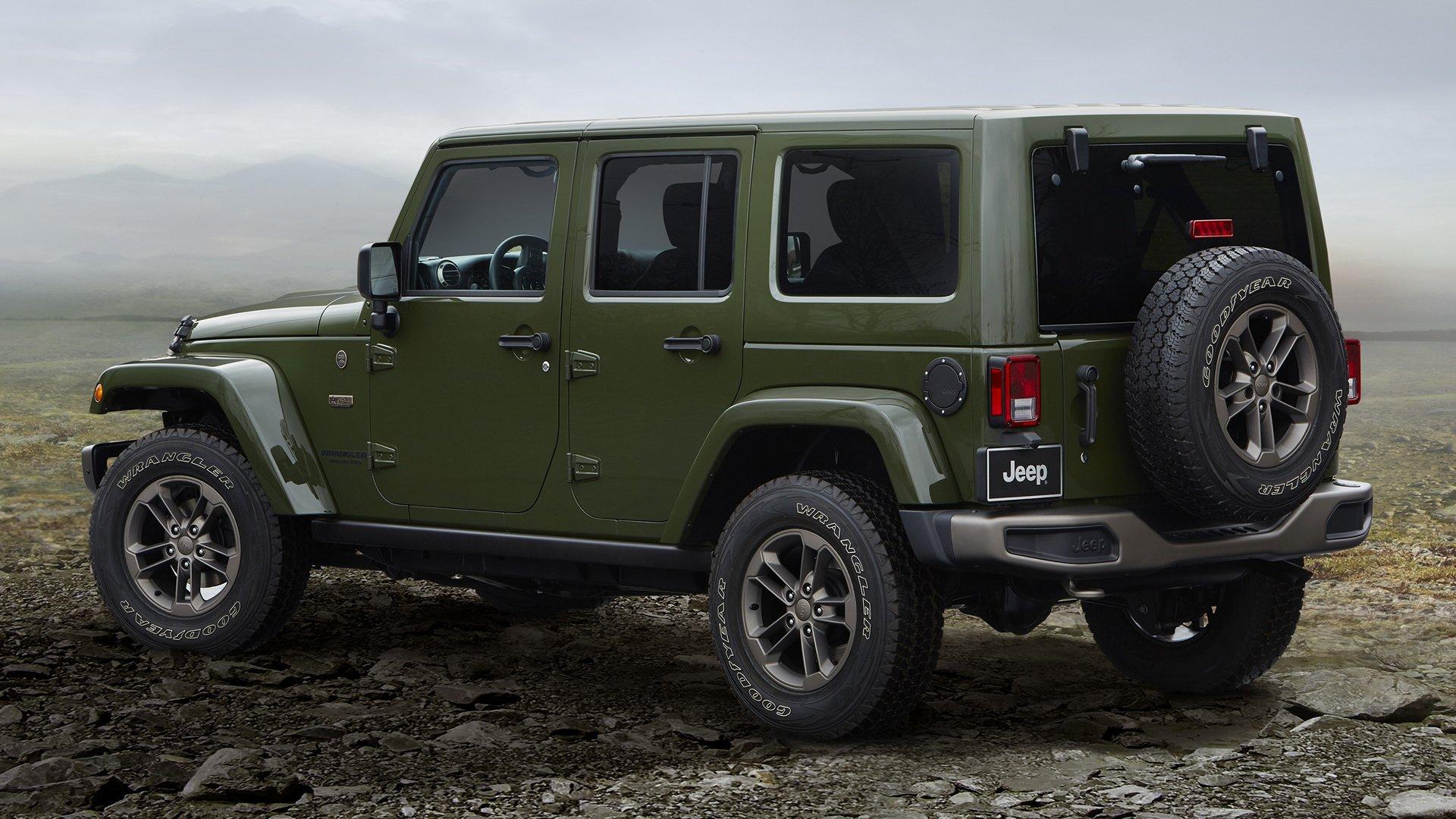 2016 Jeep Wrangler Unlimited 75th Anniversary Fond d'écran ...