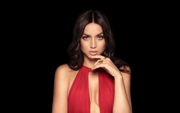 Celebrity Ana de Armas Actresses Actress Cuban Brunette Green Eyes HD Wallpaper | Background Image