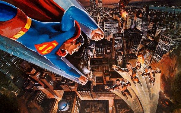 Movie Superman II Superman General Zod Metropolis HD Wallpaper | Background Image