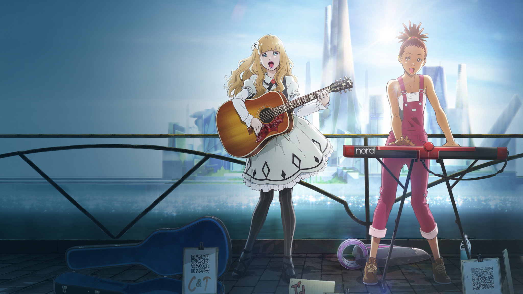 Carole & Tuesday HD Wallpaper | Background Image | 2048x1152 | ID:1118775 - Wallpaper Abyss