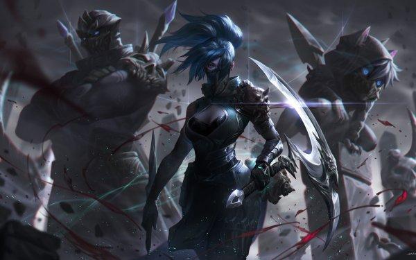 Video Game League Of Legends Akali Shen Kennen Fan Art HD Wallpaper | Background Image