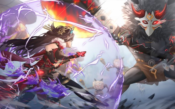 Video Game Genshin Impact Beidou HD Wallpaper | Background Image