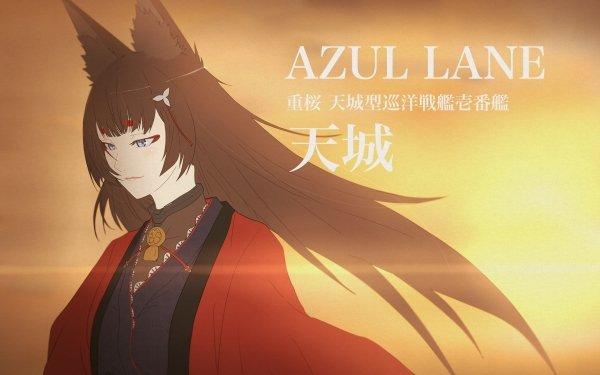 Anime Azur Lane Amagi HD Wallpaper | Background Image