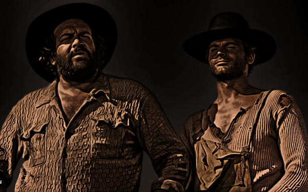 Movie Trinity Is Still My Name Bud Spencer Terence Hill HD Wallpaper | Background Image