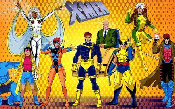 TV Show X-Men Storm Cyclops Gambit Jean Grey Rogue Beast Charles Xavier Wolverine Logan James Howlett Jubilee Hank McCoy HD Wallpaper | Background Image