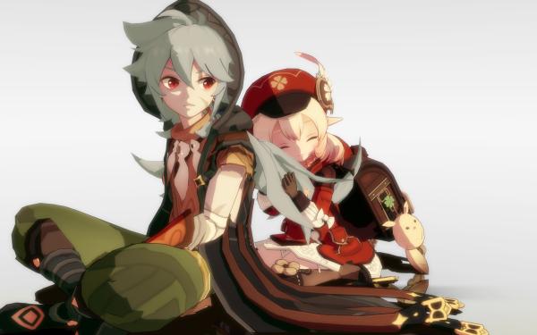 Video Game Genshin Impact Klee Razor HD Wallpaper | Background Image