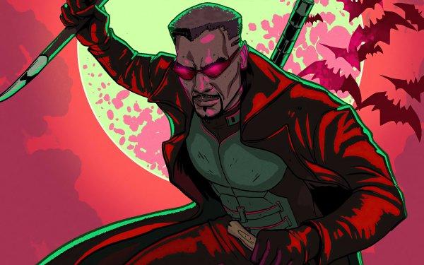 Comics Blade Marvel Comics HD Wallpaper | Background Image