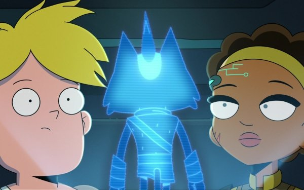 TV Show Final Space Gary Goodspeed Little Cato Nightfall Blonde HD Wallpaper | Background Image