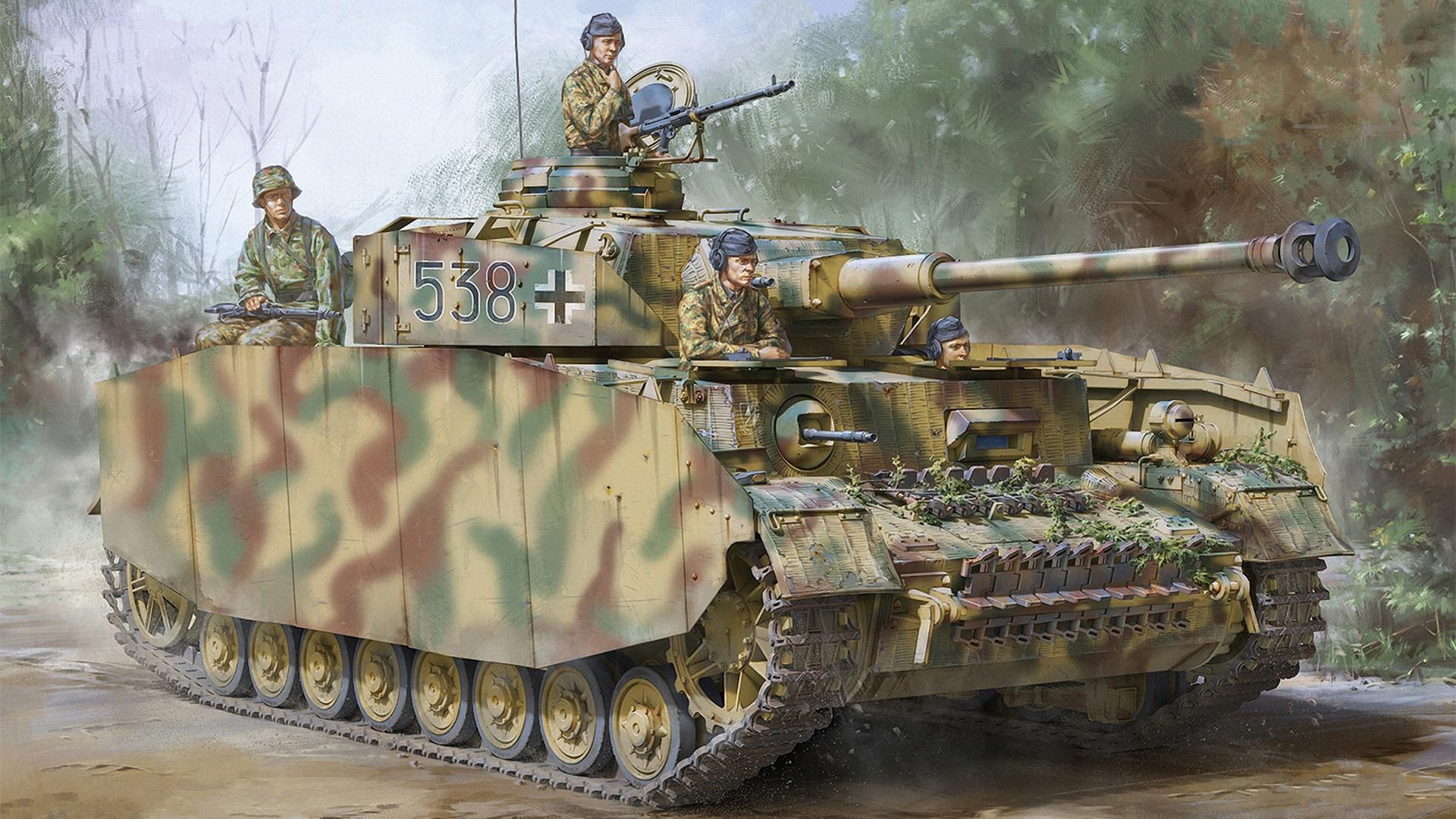 Wallpaper A IV, Panzerkampfwagen IV, Pz. IV, medium tank