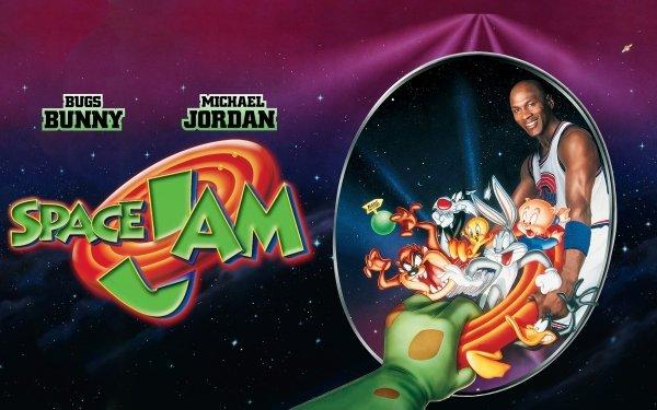 Movie Space Jam Bugs Bunny Michael Jordan Porky Pig HD Wallpaper | Background Image