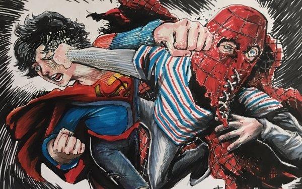 Comics Superhero Jon Kent Brightburn Superboy Punch Crossover HD Wallpaper | Background Image