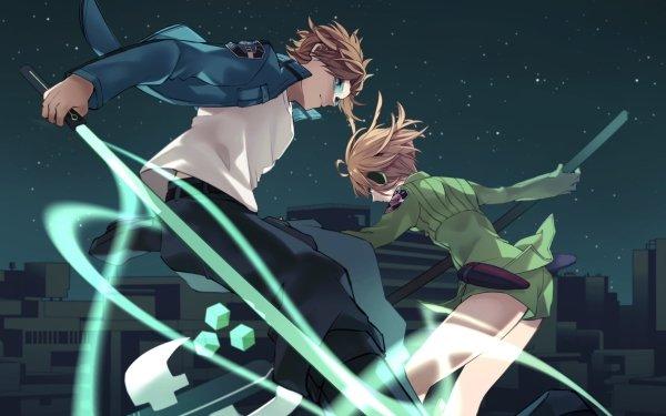 Anime World Trigger Yūichi Jin Kirie Konami Fondo de pantalla HD | Fondo de Escritorio