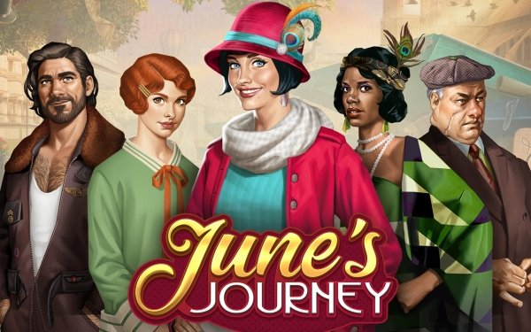 Video Game June's Journey: Hidden Objects HD Wallpaper   Background Image