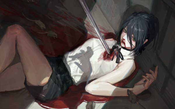 Anime Chainsaw Man Reze HD Wallpaper | Background Image