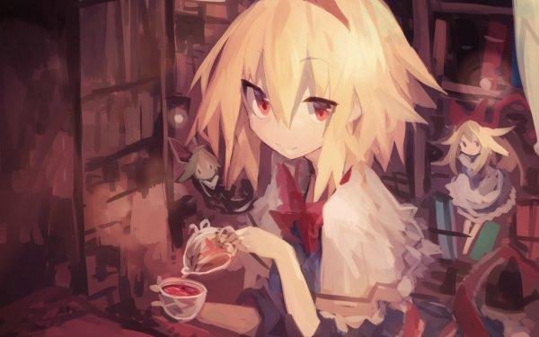 Anime Touhou Alice Margatroid Shanghai Doll HD Wallpaper | Background Image