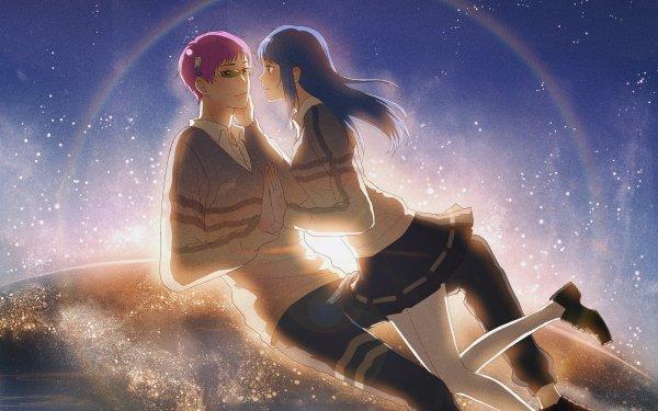 Anime The Disastrous Life of Saiki K. Saiki Kusuo Teruhashi Kokomi Fondo de pantalla HD   Fondo de Escritorio