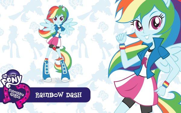 TV Show My Little Pony: Equestria Girls My Little Pony Rainbow Dash HD Wallpaper | Background Image