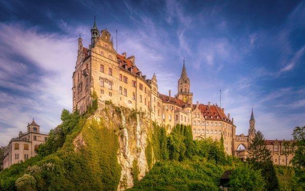 Construction Humaine Sigmaringen Castle Châteaux Allemagne Château Fond d'écran HD | Image