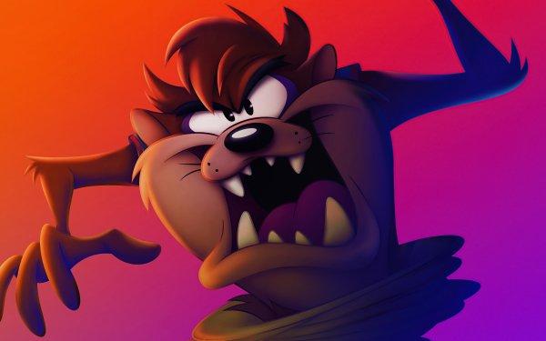 Movie Space Jam 2 Looney Tunes Tasmanian Devil HD Wallpaper | Background Image