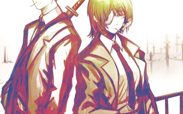 Anime Chainsaw Man Himeno Aki Hayakawa HD Wallpaper | Background Image