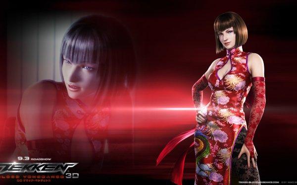 Anime Tekken: Blood Vengeance Tekken Anna Williams HD Wallpaper | Background Image
