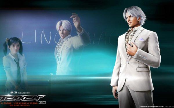 Anime Tekken: Blood Vengeance Tekken Lee Chaolan Ling Xiaoyu HD Wallpaper | Background Image