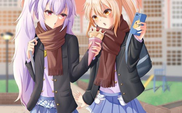 Anime Azur Lane Laffey Ayanami HD Wallpaper | Background Image